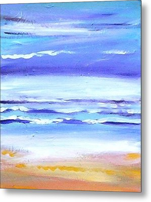 Beach Dawn Metal Print
