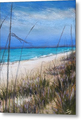 Beach Dreaming Metal Print by Susan Jenkins