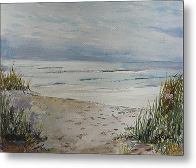 Beach Front Metal Print by Dorothy Herron