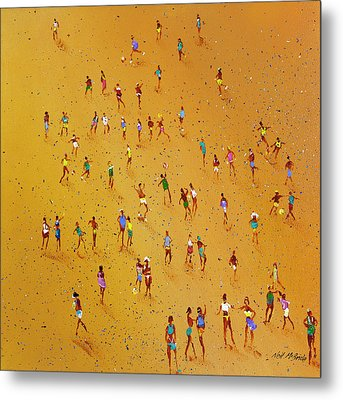 Beach Games Metal Print