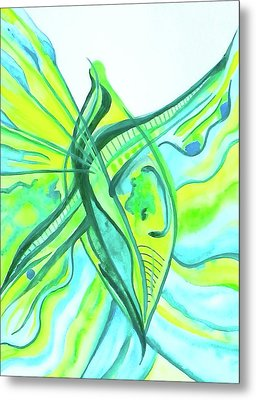Beach Glass Dream Metal Print by Erika Swartzkopf