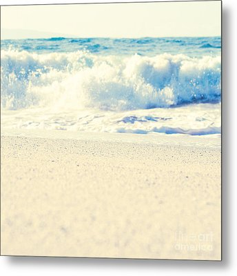 Metal Print featuring the photograph Beach Gold by Sharon Mau