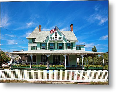 Metal Print featuring the photograph Beach Haven Style by John Rizzuto