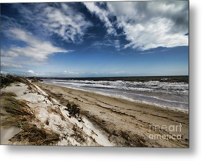 Metal Print featuring the photograph Beach Life by Douglas Barnard