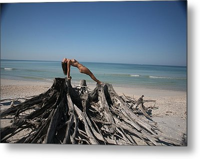 Metal Print featuring the photograph Beach Ngirl by Lucky Cole