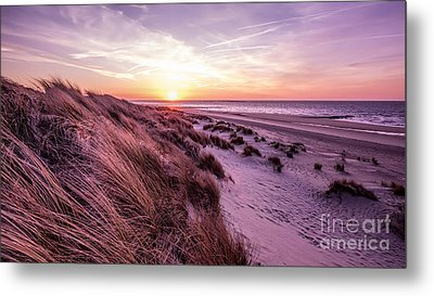 Beach Of Renesse Metal Print