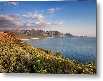 Metal Print featuring the photograph Beach Of San Nicolao by Laura Melis