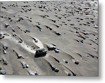 Metal Print featuring the photograph Beach Rocks 2 by Joanne Coyle