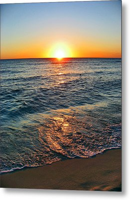 Beach Texture. Sun, Metal Print by Andy Za