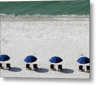 Metal Print featuring the photograph Beach Therapy 2 by Marie Hicks