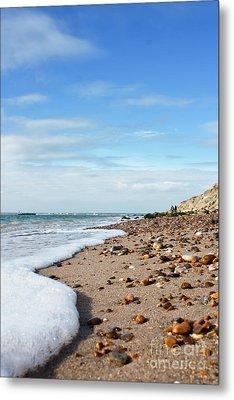 Beachcombing Metal Print