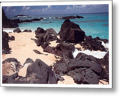 Metal Print featuring the photograph Beaches Of Hawaii by Lori Mellen-Pagliaro