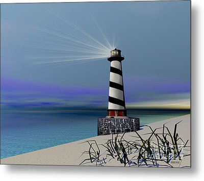 Beacon Metal Print by Corey Ford