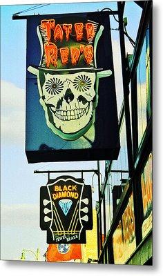 Beale St. 1 Metal Print by Jame Hayes