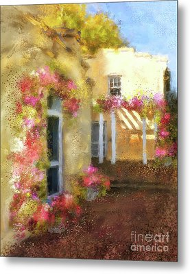 Metal Print featuring the digital art Beallair In Bloom by Lois Bryan