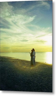 Beaming Love Metal Print by Jean Haynes