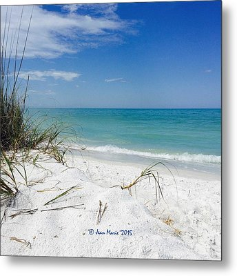 Bean Point, Anna Maria Island Metal Print by Jean Marie Maggi