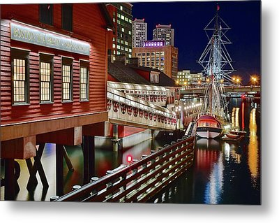 Bean Town Museum Metal Print by Frozen in Time Fine Art Photography