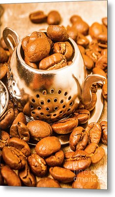 Beans The Little Teapot Metal Print by Jorgo Photography - Wall Art Gallery