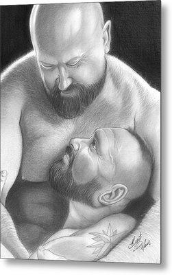 Bear Love 4 Metal Print