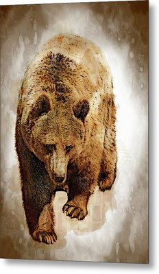 Bear Market Metal Print