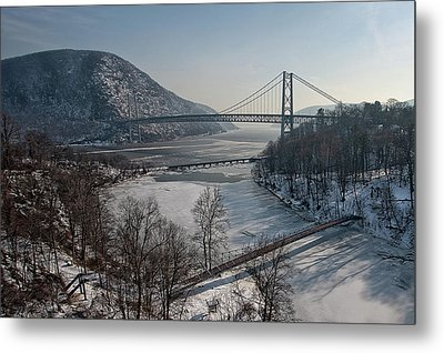 Bear Mountain Bridge Metal Print by Photosbymo
