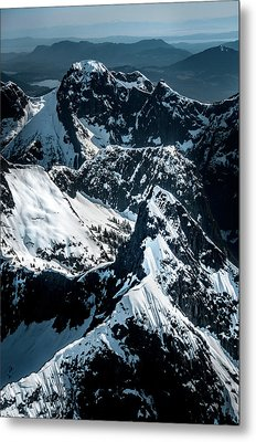 Beartooth Mountain Bc Metal Print
