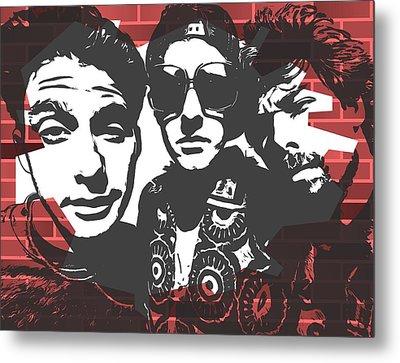 Beastie Boys Graffiti Tribute Metal Print