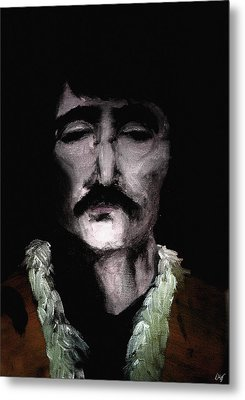 Beatle John Metal Print by Nicholas Ely