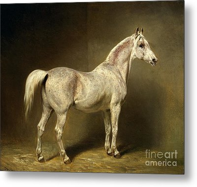 Beatrice Metal Print by Carl Constantin Steffeck