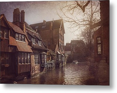 Beauteous Bruges Metal Print by Carol Japp