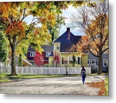Beautiful Autumn Afternoon Metal Print by Susan Savad