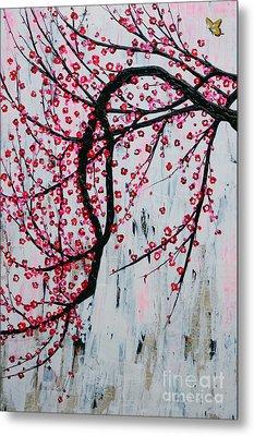 Beautiful Blossoms Metal Print by Natalie Briney