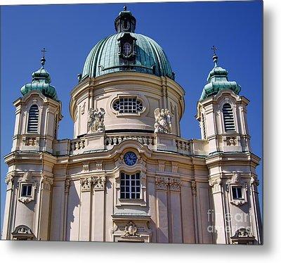 Beautiful Church In Austria Metal Print by Mariola Bitner