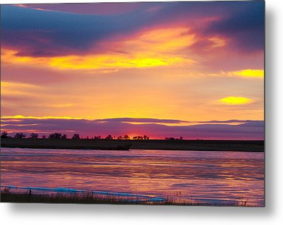 Beautiful Colorful Boulder County Winter Morning Metal Print by James BO  Insogna