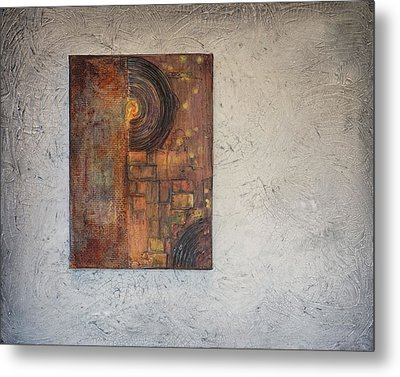 Beautiful Corrosion Too Metal Print by Theresa Marie Johnson