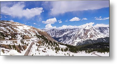 Metal Print featuring the photograph Beautiful Cottonwood Pass by Tim Reaves
