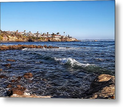 Beautiful Day In La Jolla Metal Print by Glenn McCarthy Art and Photography