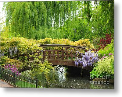 Beautiful Garden Art Metal Print by Boon Mee