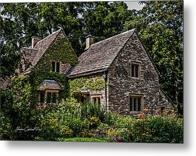 Metal Print featuring the photograph Beautiful Home by Joann Copeland-Paul