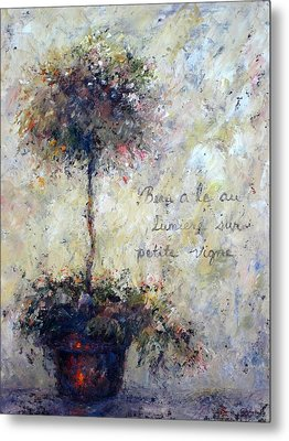 Metal Print featuring the painting Beautiful Is The Light by Bonnie Goedecke