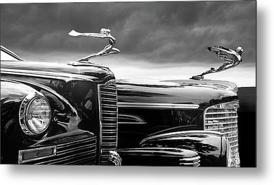 Beautiful Lady Hood Ornaments Metal Print by Larry Butterworth