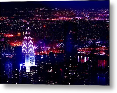 Beautiful Manhattan Skyline Metal Print