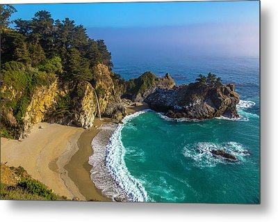 Beautiful Mcway Falls Cove Metal Print