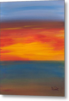 Beautiful Morning Metal Print by Bonnie Rabert