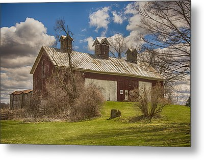 Beautiful Old Barn Metal Print by JRP Photography
