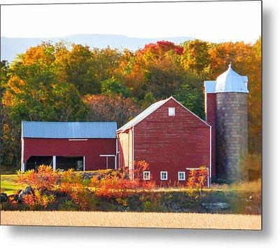 Beautiful Red Barn 2 Metal Print
