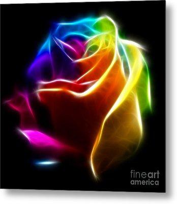 Beautiful Rose Of Colors No2 Metal Print