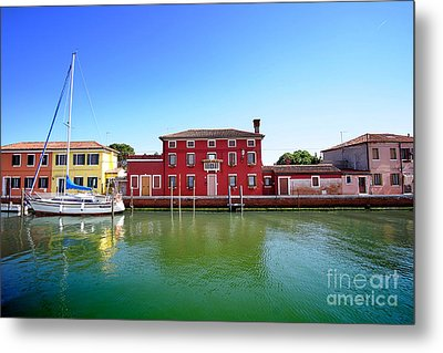 Beautiful Torcello Metal Print by Floyd Menezes