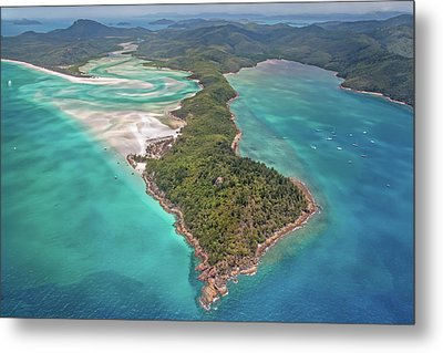 Metal Print featuring the photograph Beautiful Whitsundays by Az Jackson